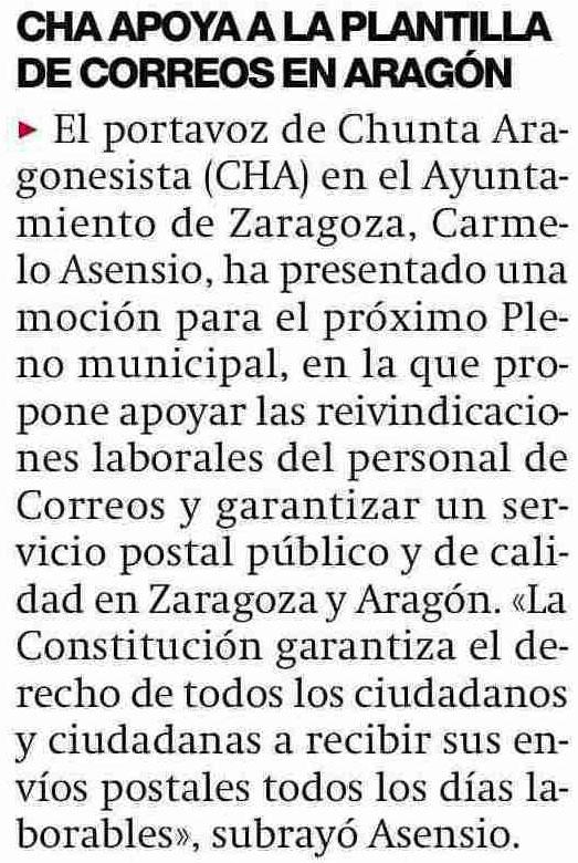 CHA EN LOS MEDIOS | Carmelo Asensio apoya a la plantilla de ...